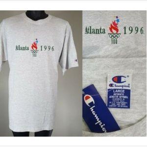 NWT Vintage 1996 Atlanta Olympics Champion T Shirt